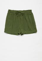 Superbalist Kids - Elasticated shorts - olive