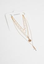 Superbalist - Mixed layered necklace-gold