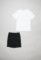 Superbalist Kids - Nasa shorts & tee set - black & white
