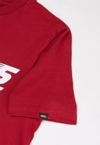Vans - Racers edge short sleeve boys - red