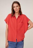 MANGO - Shirt eliza - red