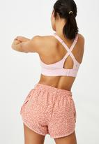 Cotton On - Workout training crop - rose water