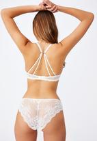 Cotton On - Summer lace contour bra - cream