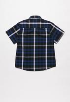 JEEP - Sven boys short sleeve yd check shirt - multi