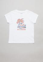 Billabong  - Flamingo todds tee - white