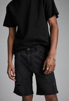 Cotton On - Straight short - black