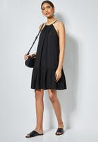 Superbalist - Halter neck dress - black