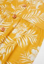 Roxy - How long print - yellow