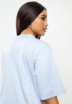 JUNAROSE - Gralle 2/4 sleeve above knee dress - blue