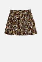 Free by Cotton On - Ava skirt - phantom floral fields