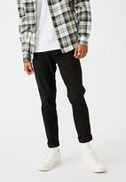 Cotton On - Skinny stretch chino - black