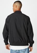 Cotton On - Resort bomber jacket - textured black