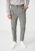 Cotton On - Oxford trouser - black