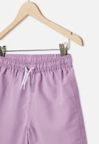 Free by Cotton On - Boys bailey boardshort - purple
