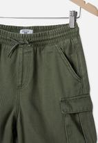 Free by Cotton On - Charlie cargo short - green