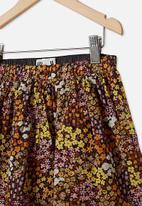 Cotton On - Sully skirt - phantom floral fields