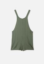 Free by Cotton On - Ava overall - swag green