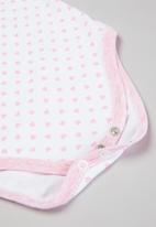 POP CANDY - Girls 2 pack bodyvest - pink & white