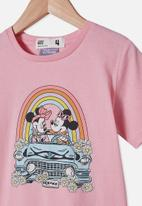 Cotton On - License short sleeve tee - pink