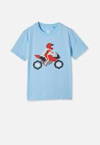 Cotton On - Downtown short sleeve tee - blue
