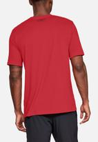 Under Armour - Ua sportstyle lc short sleeve tee - red