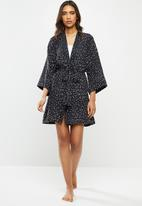 Superbalist - Short robe - black