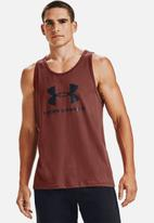 Under Armour - UA sportstyle logo tank - red
