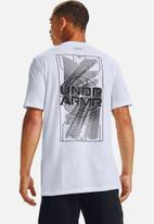 Under Armour - UA basketball graphic tee - white