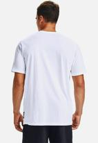 Under Armour - Curry freehand Eddy short sleeve tee - white