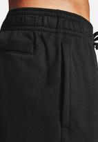 Under Armour - UA rival fleece shorts - black