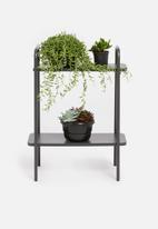 H&S - Rectangular plant rack - dark grey