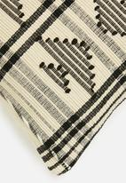 Sixth Floor - Nila cushion cover - black & white