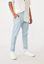 Cotton On - Skinny stretch chino - ice blue