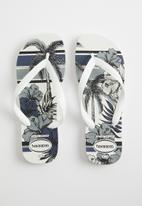 Havaianas - Aloha - white & black