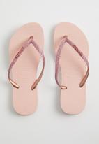 Havaianas - Slim glitter - pink