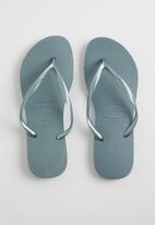 Havaianas - Slim - silver blue