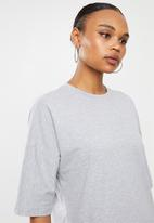 Missguided - Co ord T-shirt jogger set - grey