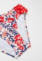 Billabong  - Free babe hi neck bikini set - multi