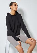Superbalist - Soft lightweight hoodie - black