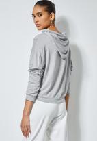 Superbalist - Soft lightweight hoodie - light grey