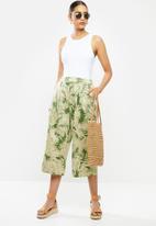 MANGO - Trousers Kai - khaki
