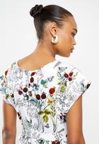 AMANDA LAIRD CHERRY - Thabitha dress - multi