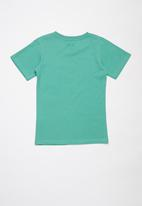 JEEP - Pablo boys short sleeve graphic print tee - green