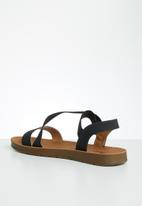 Butterfly Feet - Hilton sandal - black