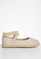 Butterfly Feet - Katlin espadrille - beige