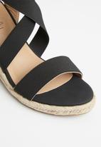 Butterfly Feet - Quantom wedge - black