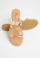 Butterfly Feet - Neptune sandal - gold