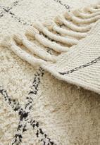 Sixth Floor - Nairi cotton tufted rug - cream