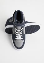 DC - Pure high-top ev - navy & grey