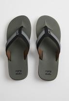 Billabong  - All day impact flip-flops - green